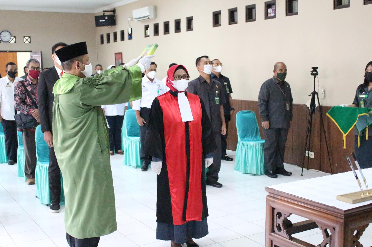 Pengambilan Sumpah Jabatan dan Pelantikan  Wakil Ketua Pengadilan Negeri Surakarta Kelas IA Khusus